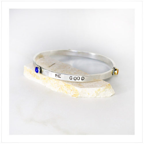 Be Good Sterling Bangle